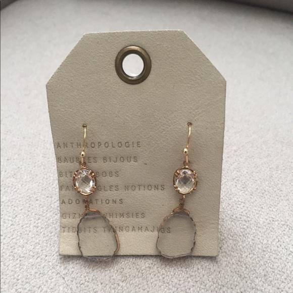 Anthropologie Sea Glass Post Earrings Pzv2MrAl